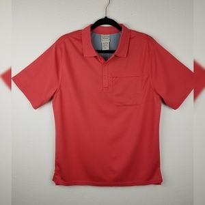 NWOT Scandia Woods Golf Stretch Polo Active Shirt